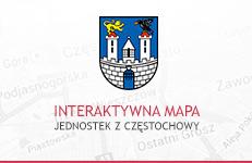 Mapa jednostek z Częstochowy
